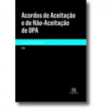ACORDOS DE ACEITACAO E DE NAO-ACEITACAO DE OPA