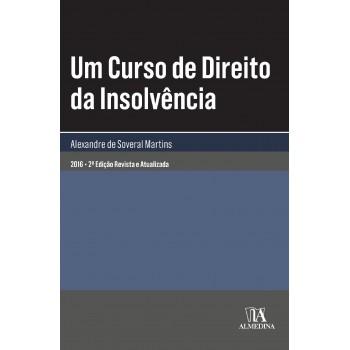 UM CURSO DE DIREITO DA INSOLVENCIA - 2016