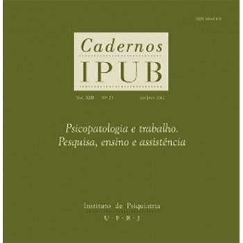 CADERNOS IPUB VOL.XIII Nº23
