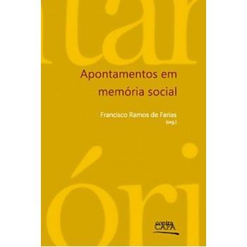 Apontamentos em memória social