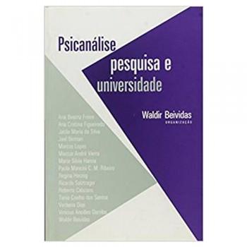 Psicanálise, pesquisa e universidade