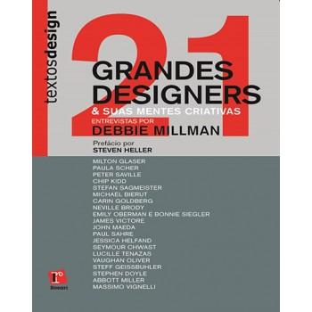 21 GRANDES DESIGNERS & SUAS MENTES CRIATIVAS