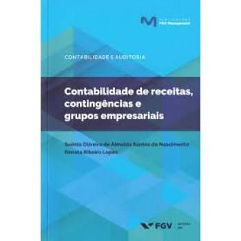 Contabilidade de receitas, contingências e grupos empresariais