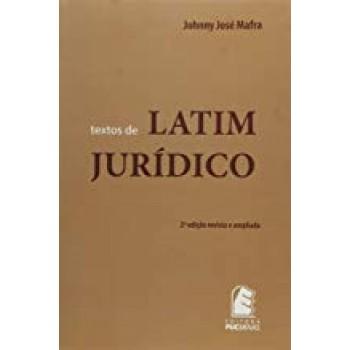 Textos de Latim Jurídico