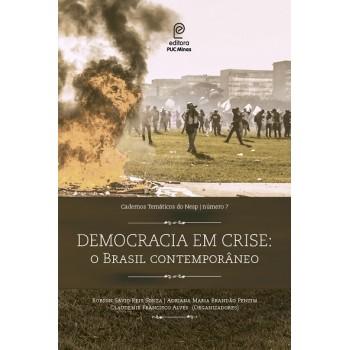 Democracia em crise: O Brasil contemporâneo