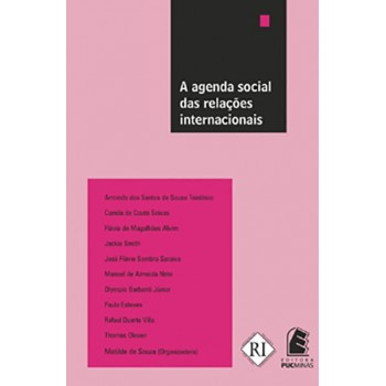 AGENDA SOCIAL DAS RELACOES INTERNACIONAIS