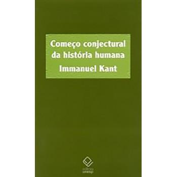 Começo conjectural da história humana