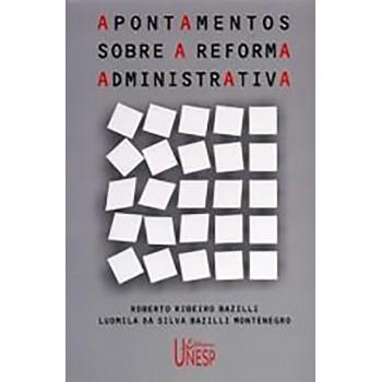 Apontamentos sobre a reforma administrativa