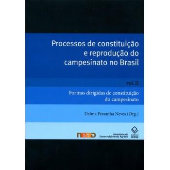 Processos de constituição e reprodução do campesinato no Brasil Vol II: Formas dirigidas de constituição do campesinato